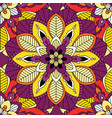 mandala seamless pattern background vector image vector image