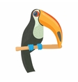 Toucan icon cartoon style vector image