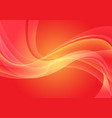 abstract red yellow wave curve light motion vector image vector image