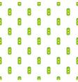 Aluminum beer pattern cartoon style vector image vector image