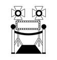 cinema movie design vector image