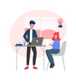 creative business people office emloyees vector image vector image