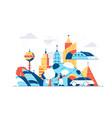 modern city landscape vector image vector image