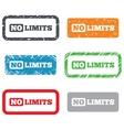 No limit sign icon Unlimited symbol vector image