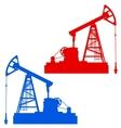 Oil pumpjack Oil industry equipment vector image vector image