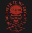tattoo vintage emblem vector image