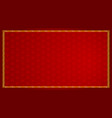 background design with abstract pattern in red vector image vector image