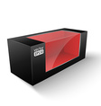 Black box vector image vector image