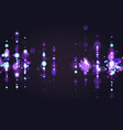 blue bokeh sparkle glitter lights luxury glamor vector image vector image