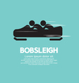 Bobsleigh vector image