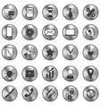 buttons3 vector image vector image