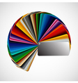 Color palette vector image vector image