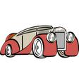 luxury mafia car vector image vector image