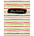 merry christmas greeting card sketchbook cover vector image vector image