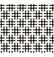 Seamless Black And White Hashtag Pattern