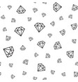 seamless diamonds pattern vector image vector image