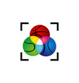 sport ball precision vector image vector image