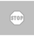 Stop Sign Icon computer symbol vector image