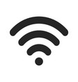 wifi signal icon vector image vector image