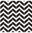 abstract seamless black and white pattern with vector image vector image