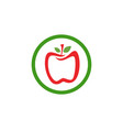 apple logo and symbols icons app vector image vector image