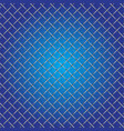 Iron wire mesh and shadow on blue background vector image