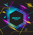 modern art background vector image vector image
