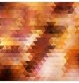 Rainbow geometric autumn background card vector image vector image