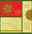 Set examples of mandalas Zentangl circular vector image vector image