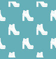 woman shoes pattern seamless vector image vector image