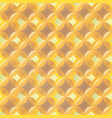 yellow color bubbles seamless texture vector image