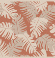 beautiful summer seamless pattern with exotic vector image
