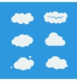Character Sets cloud vector image vector image