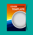 cover design template6 vector image vector image
