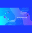 fluid shapes composition eps10 vector image
