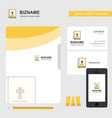 holy bible business logo file cover visiting card vector image vector image