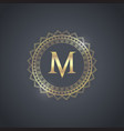 luxury brand design vector image