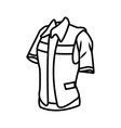 construction worker vest vector image vector image