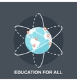 Education for All vector image vector image