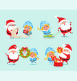 happy new year list of gifts vector image