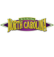 North Carolina The Tar Heel State vector image