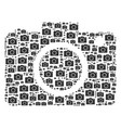 photo camera icon figure vector image vector image