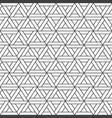 seamless triangle pattern - geometric vector image