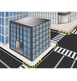 Townscape cartoon vector image vector image