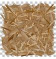 wood pressed wooden panel osb board vector image vector image