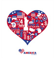 American design elements vector image vector image