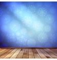 Christmas Decor blue bright EPS 10 vector image vector image