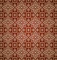 east pattern dark background vector image vector image