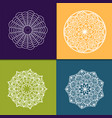 Mandala vintage decorative elements