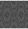 Seamless vintage dark gray background vector image vector image